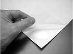 Colortrac Document Carrier Sheet D-Size with White backing