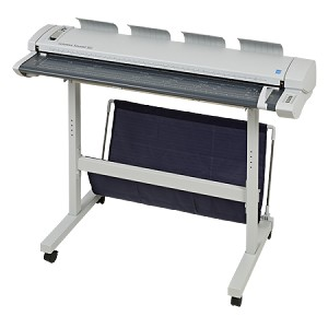 "Colortrac SmartLF SG44E 44"" Thick Document Express Color Large Format Scanner"