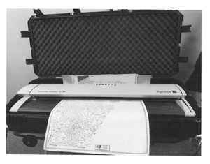 Scanner transport case