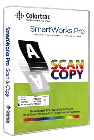 Colortrac SmartWorks Pro Scan & Copy Software