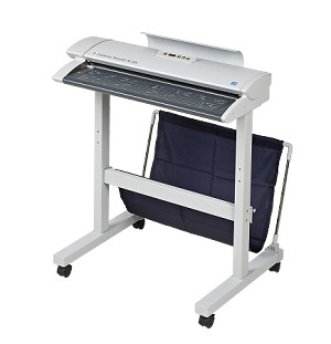 Colortrac stand & catch basket for SC25 Xpress Scanners